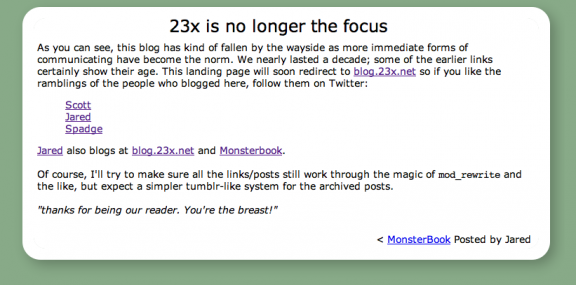 23x.net posts as they will be displayed shortly.